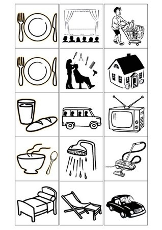 Semainier 170201 - Pictogramme cuisine gratuit ...
